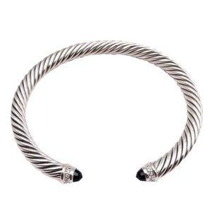 DAVID YURMAN • Black Onyx Classic Cuff Bracelet